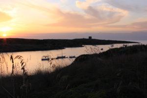Puerto de Sanitja en Menorca